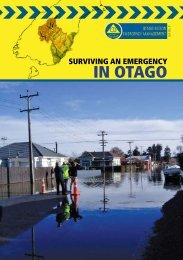 Surviving an Emergency in Otago - Clutha District Council