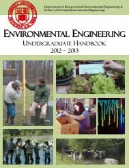 EnvE Handbook 2012-2013 - Civil & Environmental Engineering