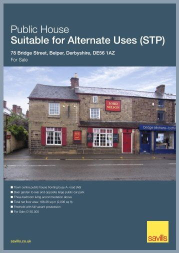 Public House Suitable for Alternate Uses (STP) - Savills