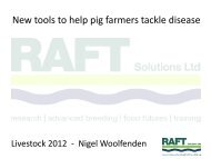 New tools to help pig farmers tackle disease - Eblex