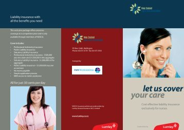 33430 Aged Care Brochure.indd - New Zealand Aged Care ...