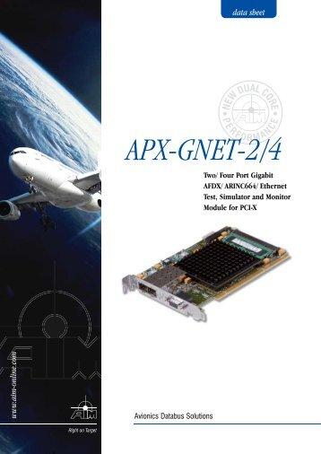 APX-GNET-2/4 - MB Electronique