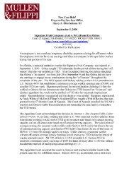 Signature Fruit Company, et al. v. WCAB (Ochoa) - Mullen & Filippi