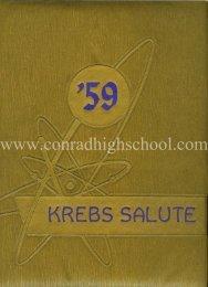 KREBS 1959 Year Book - Henry C. Conrad High School