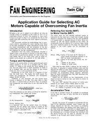 Application Guide for Selecting AC Motors Capable of Overcoming ...