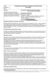 Coopérative d'activités et d'emploi à Flers dans l'Orne Crescendo