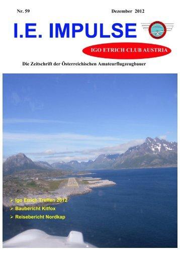Nr. 59 Dezember 2012 Die Zeitschrift der Österreichischen ...