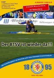 Heft 13: SV Babelsberg - FanPresse Braunschweig