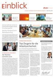 Top-Zeugnis für die Arbeitssicherheit - E.ON Kernkraft GmbH