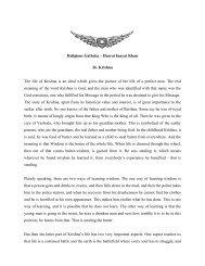 Religious Gatheka – Hazrat Inayat Khan 26. Krishna The life of ...
