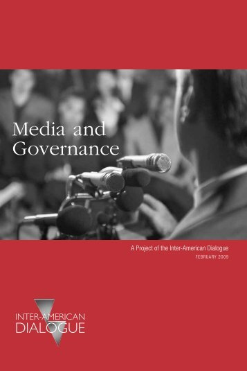 Media and Governance - Inter-American Dialogue