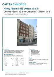 Cheyne House - Details - Capita Symonds