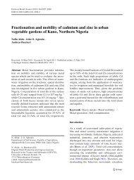 Abdu, N., Agbenin, J.O., Andreas B. (2012) Fractionation