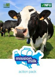 Mission Milk action pack - National Federation of Women's Institutes