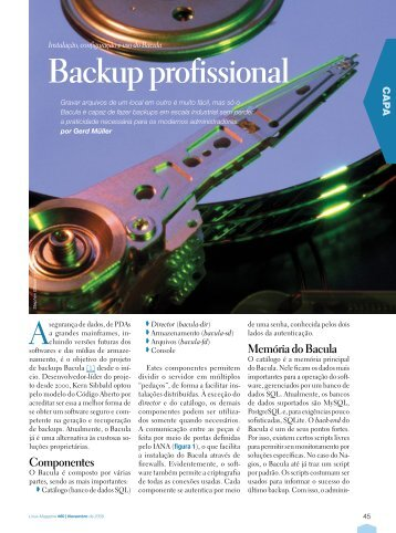 Backup profissional - Linux New Media