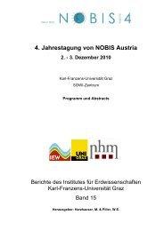 4. Jahrestagung von NOBIS Austria 2. - 3. Dezember 2010