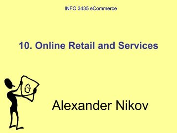 Online retailing and services