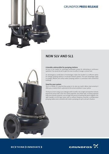 NEw SLV ANd SL1 - Grundfos