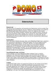 klicken Sie hier - Domo Reisen GmbH