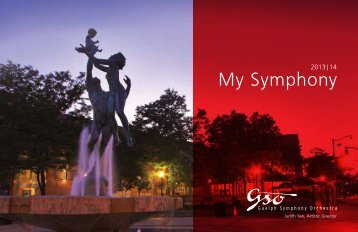 My Symphony - Guelph Symphony Orchestra