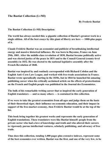 Armonias economics bastiat pdf writer