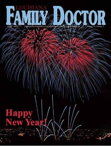 Happy New Year! - Louisiana Academy of Family Physicians
