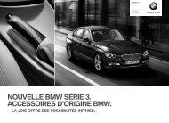 F30 CHfr Titel.indd - BMW Seuils de porte M. -. 10.