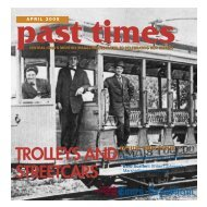 trolleys and streetcars inside this issue - Times Republican