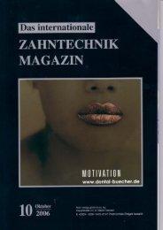Zahntechnik International 10/ 2006 als PDF zum ... - Dentalblog