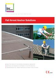 Fall Arrest Anchor Solutions - Kee Safety Ltd