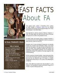 In Focus: Friedreich's Ataxia - MDA