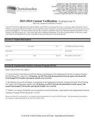 Admission Information For Student Visa Holders Chattahoochee