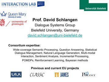 Prof. David Schlangen - LT-Innovate