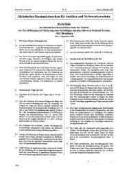 Richtlinie zur Durchführung und Förderung eines freiwilligen ...