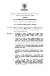 PMK No. HK.02.02-149 ttg Izin Dan Penyelenggaraan Praktik Bidan ...