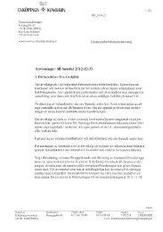 Anvisningar bokslut 2012 - Enköping