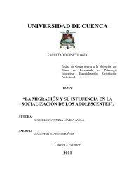 La Migración y su Influencia en la Socialización de los Adolescentes