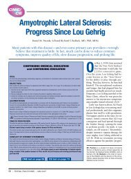 Amyotrophic Lateral Sclerosis: Progress Since Lou Gehrig