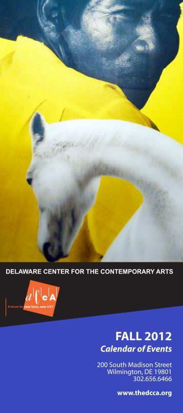 FALL 2012 - Delaware Center for the Contemporary Arts