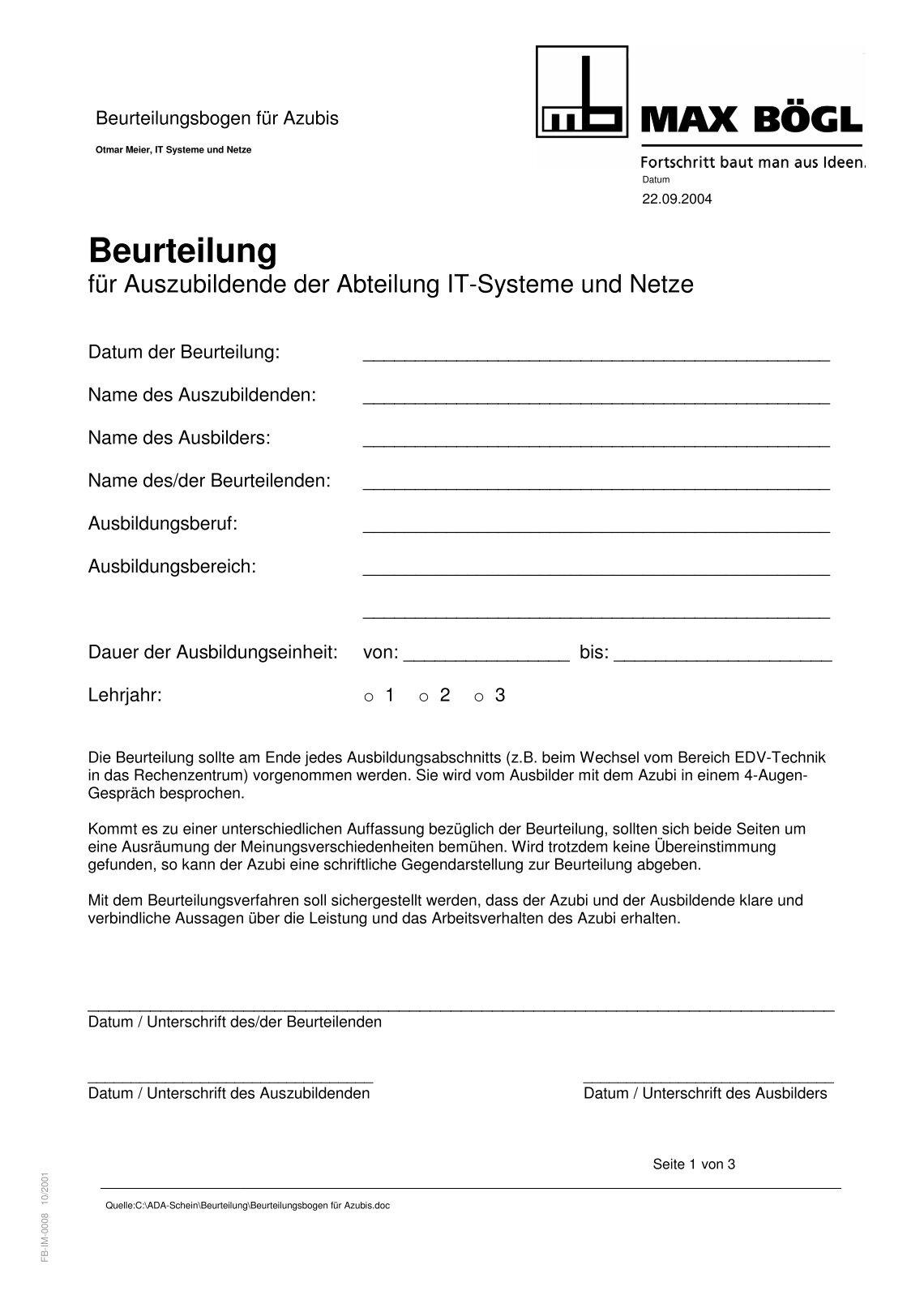 Beste Fitness Beurteilungsbogen Bilder - FORTSETZUNG ARBEITSBLATT ...