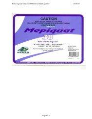 Kenso Agcare Mepiquat 38 Plant Growth Regulator ... - Agtech.com.au