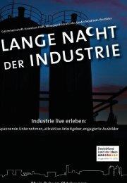 Wir in Deutschland - Lange Nacht der Industrie