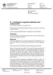 ÅM 2010 2980 Otillbörlig marknadspåverkan - Åklagarmyndigheten