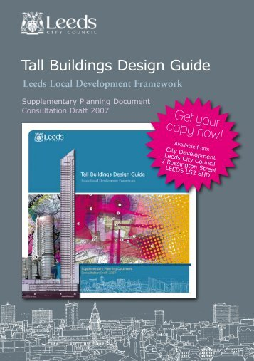 Tall Buildings Design Guide - Leeds City Council Consultations