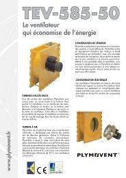 Le ventilateur qui économise de l'énergie