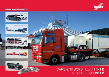 CARS & TRUCKS NEWS 11-12 & COLLECTION 2012 - Herpa