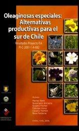 Oleaginosas especiales alternativas productivas para el Sur de Chile