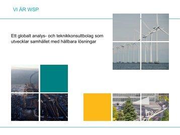 HÃ¥llbarhetsklassning av infrastruktur - WSP Group
