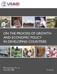 Harberger Paper Layout 11_08_05.indd - Economic Growth - usaid