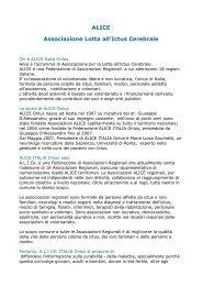 ALICE Associazione Lotta all'Ictus Cerebrale
